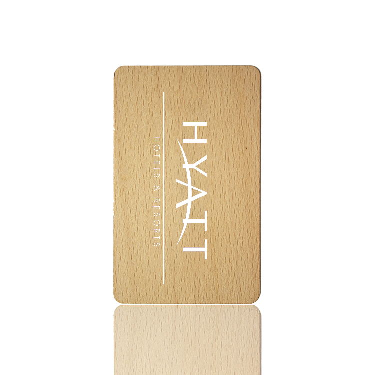 RFID Wooden Key Cards For Hilton