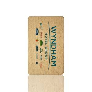Wooden Key Cards For Saflok Kaba System