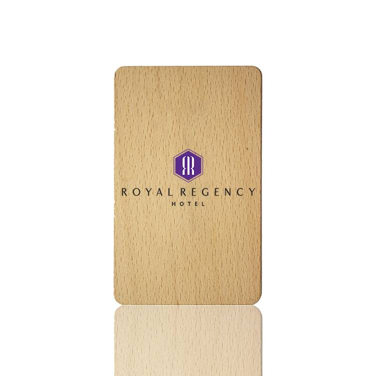 Wholesale Wooden And Bamboo hotel key cards