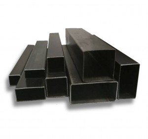 New design steel building material ms black pipe prices with high quality