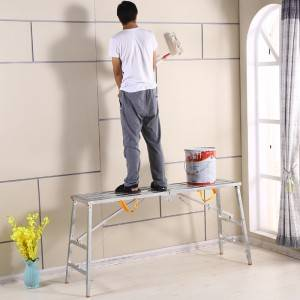 Domestic Ladders Type and Folding Ladders Feature Work Platform