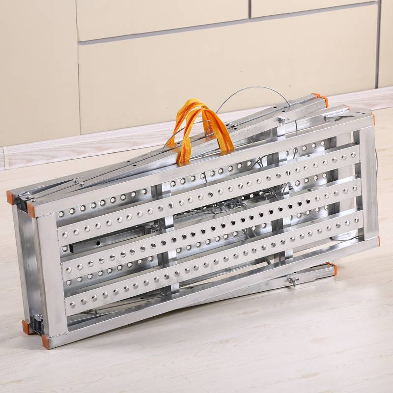 Steel folding working platform ladder for sale Featured Image