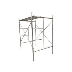 Hot Dipped Galvanized Mobile Ladder Frame Scaffolding