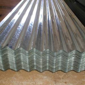 Color coated galvanized steel corrugated roofing sheet as ral 3002 astm a527 a526 g90