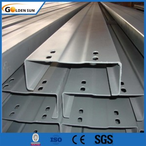 Hot rolled channel iron c steel channel price per kg steel purlin for Construction