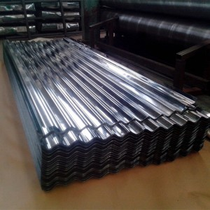 4×8 Galvanized Corrugated Sheet Metal Price Zincalume Roofing Sheet