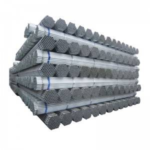BS1139 gi scaffolding steel pipe price list 48.6mm hot dipped galvanized steel pipe for scaffolding system