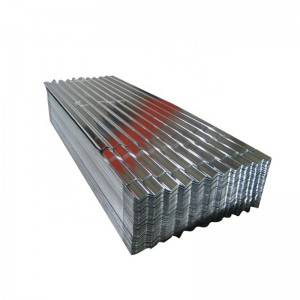 22 Gauge Corrugated Galvanized Zinc Roof Sheets / Iron Steel Tin Roof