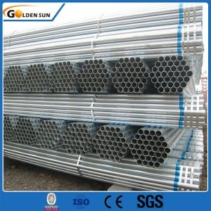 factory Outlets for Thread Hot Dipped Galvanized Steel Pipe/pre Galvanized Round Pipe/gi Tube With Clamp Half Round Steel Tube