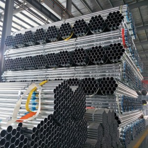 round shaped scaffolding gi pipe