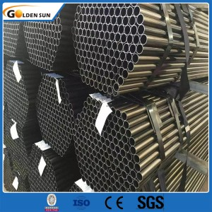 Prices Iron Pipe 6 Meter Welded Steel Pipe Erw Black Square Steel Pipe