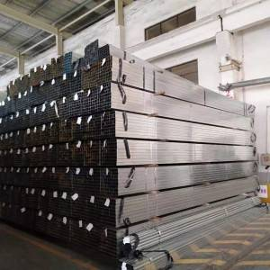 square rectangular round gi pipe for scaffolding