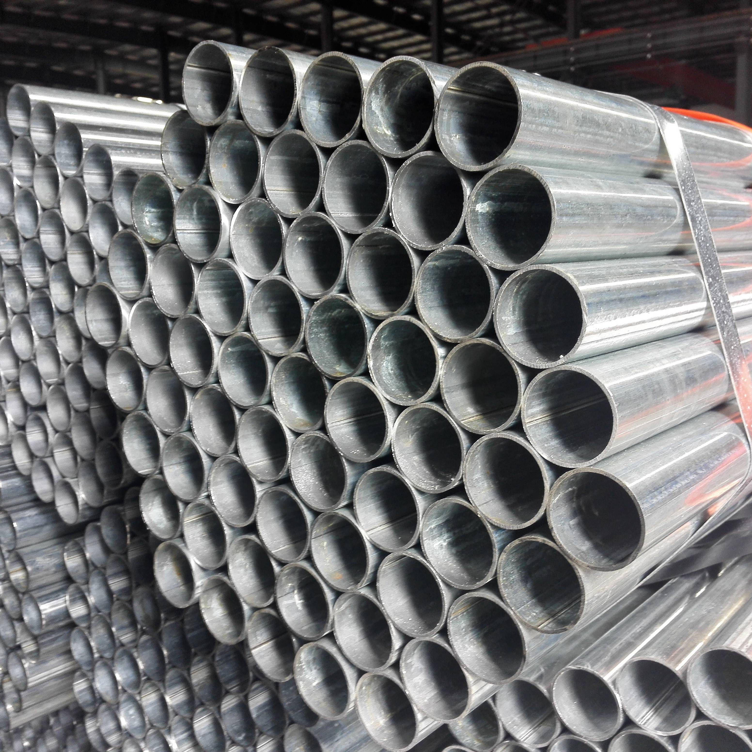 2.5 inch gi pipe 6m length with coupling and threads Featured Image