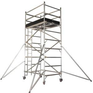 Q345 steel Layher all round ringlock scaffolding