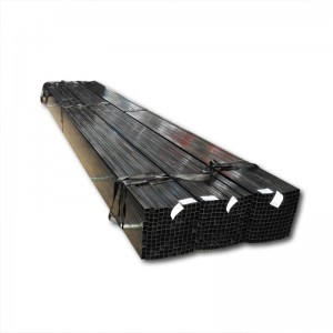 SCH40 black cs steel pipe and tubes, ASTM A 53 ERW steel pipe size 1/2 inch