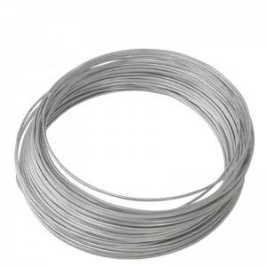 Galvanized steel wire for hanger