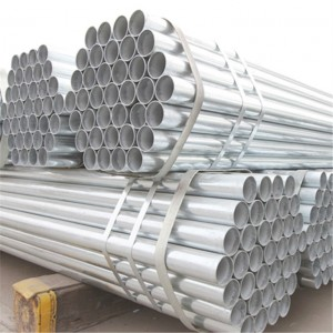Building 2.5 inch galvanized steel pipe price, Pre galvanized pipe for construction
