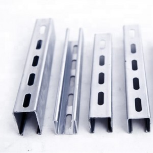 Hot selling galvanized u beam steel double C channel price