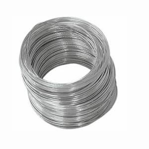 electro galvanizing steel wire