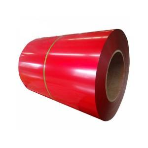 Manufacturing company colorful galvanized coated ppgi coil roof sheets in india