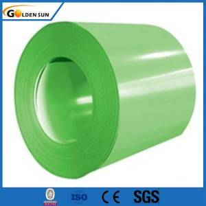 Prepainted GI PPGI color coated galvanized steel sheet coil for roofing sheet