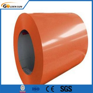 GI PPGI  Color Coated Galvanized Steel Sheet Coil