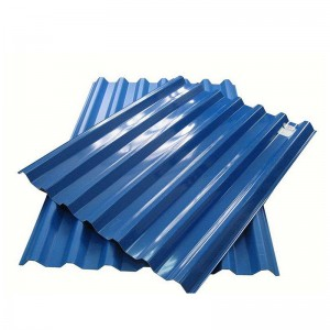 DX51D Z60g Hot Dipped GI Steel Roofing Sheets Galvanized