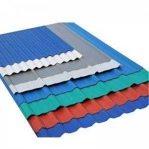 Manufacturing Color Roof With Price Corrugated Roofing Sheet PPGI Sheet