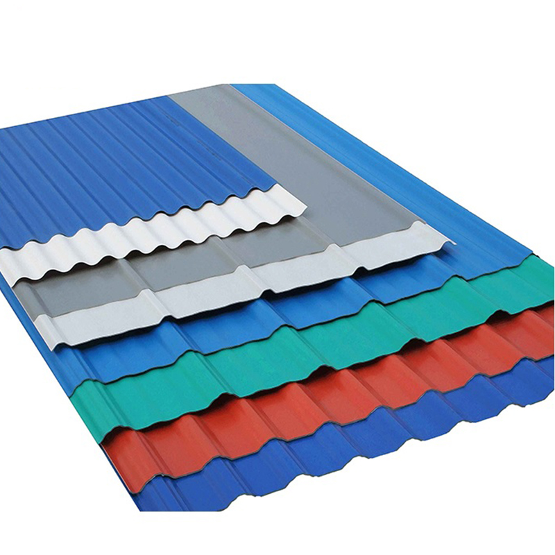 Galvanized Corrugated steel /iron roofing sheets color coated sheet price Featured Image