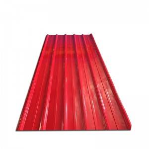 color coated Galvanized Roof Sheet Corrugated Steel Sheet Gi Iron Roofing Sheet