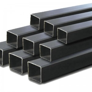 Multifunctional tube 60mm for frame scaffold erw black square steel pipe with high quality