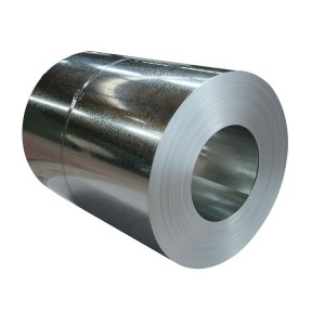 Galvanized steel strip coils , Zink coated cold rolled gi coil coated cold roll on stock
