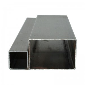 Professional erw black square steel pipe