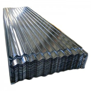 Quality trusty full hard corrugated roofing cheap metal price standard size galvanized iron roof sheet