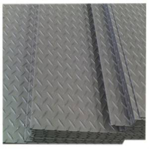 Low Price 0.6mm – 8mm thick mild steel anti-slid diamond