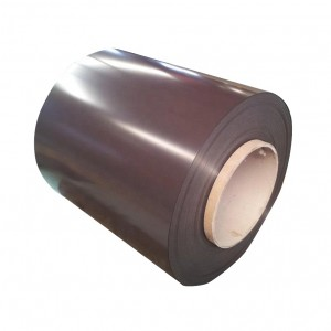 Prepainted GI Steel Coil / PPGI / PPGL Color Coated Galvanized Steel Sheet In Coil