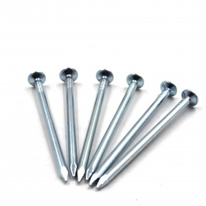 polished iron common nails factory