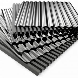 Tianjin Price DX51D Zinc Corrugated Galvanized Steel Roofing Sheet For Building