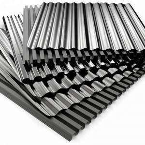 Chinese factory zinc corrugated roofing sheet