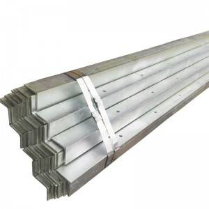 2019 hot sale hot dip galvanized l section steel angle bar