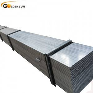 Galvanized iron pipe square hollow section factory