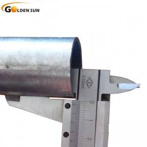 ERW hot dipped galvanized steel welded hollow section high zinc coating