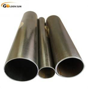 Q195-Q235 Black Annealed ERW rectangular round Pipe with factory price