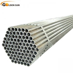 Pregalvanized round hollow section steel pipes and tube
