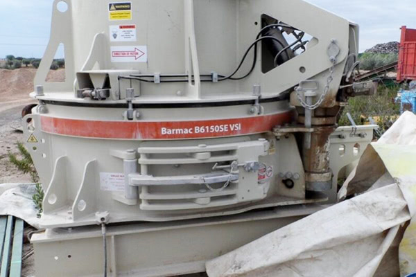 VSI Barmac's Technology for Producing Artificial Sand