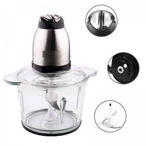 Multifunctional Meat Processor Food Chopper with Antiskid Cup Wad No. Bc007