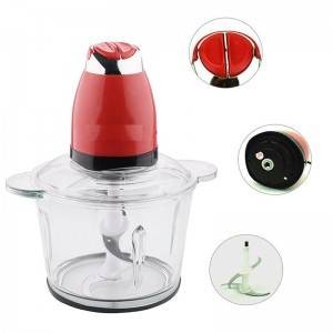 Bottom Price Food Processor Chopper with Big Capacity Cup No. Bc004