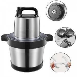 Commercial Stainless Steel Food Chopper Meat Blender with Big Capacity No. Bc017