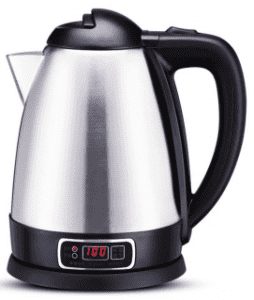 Display Screen Temperature Adjustment Stainless Steel Keep Warm Electric Kettle