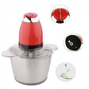 Reliable Supplier Meat Blender Food Chopper with Stainless Steel Body No. Bc011